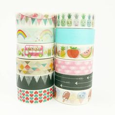 Love our new happy masking tapes  Shop bij Live Life Happy!