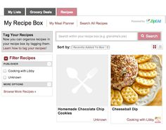 Cooking With Libby: Recipe Box, Menu Planning, and List Making on Cooking With Libby!