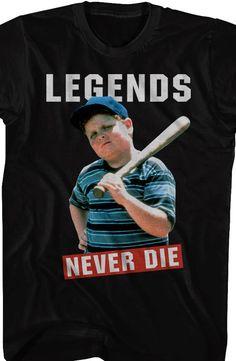 Sandlot Legends Never Die T-Shirt