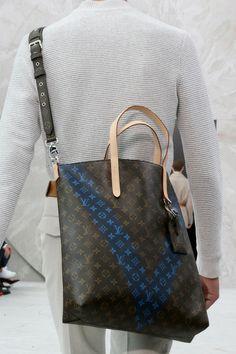 Louis Vuitton | Spring 2015 Menswear Collection #kimjones #details