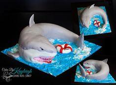 3D Shark Cake on Cake Central