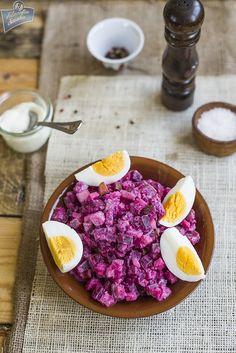 Herring and Beet Salad /Sałatka śledziowa z burakami