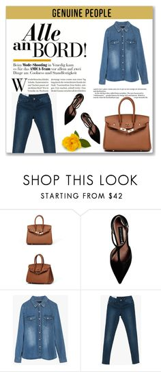 """""""GENUINE PEOPLE"""" by amra-mak ❤ liked on Polyvore featuring Steve Madden, women's clothing, women's fashion, women, female, woman, misses, juniors and Genuine_People"""