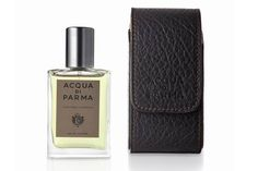 Acqua di Parma Colonia Intensa 30ml travel spray and leather case, £76, from Brummells of London (0800 112 3265; www.brummellsoflondon.com)