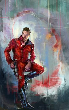 """""""Guardians of the Galaxy: Star-lord"""" - art by namecchan"""