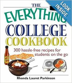 Cookbooks for college students are a great gift to give to your college student or young single adult. These cookbooks offer great recipes w...