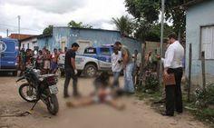 R12 Noticias: Imagem forte:Homem com passagem por tráfico de dro...