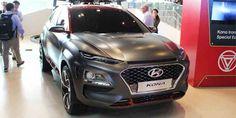 Oh Good, There's Already A Hyundai Kona Iron Man Edition #Hyundai #Kona #IronManEdition #SUV