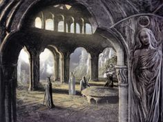 The White Council by Alan Lee