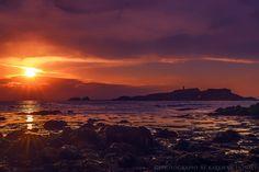 Sunset at Yellowcraigs, Scotland by Karen Deakin on 500px