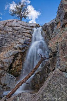 Wolf Creek Falls, Prescott National Forest, AZ by Theresa Ditson