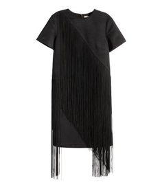 Pin for Later: Alle Herbst-Trends an einem Ort zu angemessenen Preisen  H&M Fransenkleid (80 €)