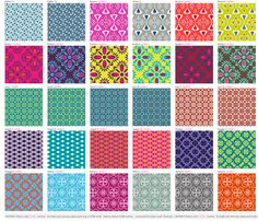 swatches - echantillons 1 fabric by motifs_et_cie on Spoonflower - custom fabric