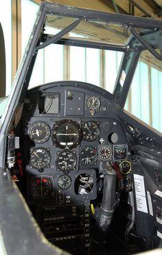 Bf109操縦席