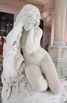 Antonio Allegretti - Eva dopo il Peccato (1881) (Eve After the Original Sin) Galleria Nazionale d'Arte Moderna e Contemporanea (GNAM), Roma