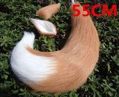 New Anime Spice and Wolf Holo Fox Kamisama Kiss Kamisama Hajimemashita Ears Tail Cosplay Prop