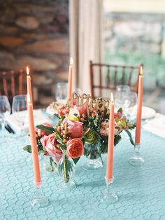 La Tavola Fine Linen Rental: Marin Reef | Photography: Nancy Ray, Venue: The Graylyn Estate in Winston-Salem, Event Planning & Design, Floral Design: Rebecca Rose Events