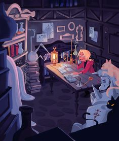 elric brothers. Studying like good lil beans