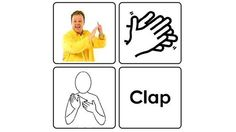 Makaton uses signs, symbols and speech to help communication  Justin demonstrating a Makaton sign