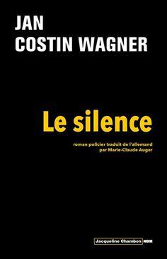 Jacqueline Chambon Noir - 2009-10 - Jan Costin Wagner - Le Silence - Recto