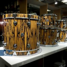 Clear Gloss Lacquer #IvoryEbonyExotic #woodology #dwdrums #thedrummerschoice