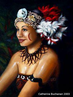 Catherine Buchanan - Samoan Taupou