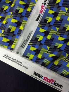 Der Bauhausstil mit einem UNi kombiniert von www.stoff.love