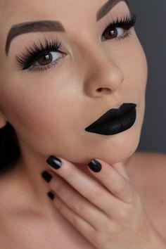 Lime Crime Black Velvet Velvetine & House of Lashes Noir Fairy
