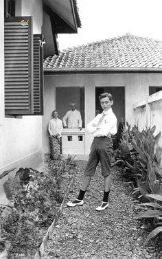 Potret orang-orang Eropa di Prins Hendriklaan, Kebon Jambu, Bandung, 1920-1921