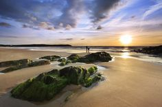 Landscape Photography: Tips To Enhance The Experience – PhotoTakes British Beaches, British Seaside, Beautiful Places To Visit, Beautiful Beaches, Landscape Photography, Nature Photography, Travel Photography, Woolacombe Beach, Devon Holidays