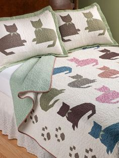 Calico Kitty Quilt | Vermont Country Store