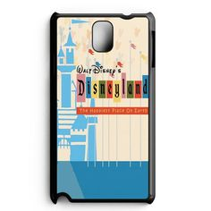 The Happiest Place On Earth Disneyland Ticket Samsung Galaxy Note 5 Edge Case