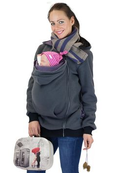 4in1 Baby carrying jacket belly to baby by GoFutureWithLove