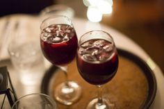 House #sangria available for purchase at Flavors partner Rosa de Triana.  WWW.SANJUANFOODTOURS.COM
