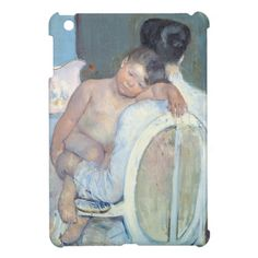 Woman Sitting with Child in Her Arms Mary Cassatt Cover For The iPad Mini