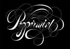 - Calligraphy