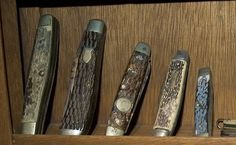 """""""Every Man Should Carry a Pocket Knife"""" AoM - A nonnegotiable, our Chaps are already in training! :)"""