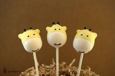 giraffe cakepops