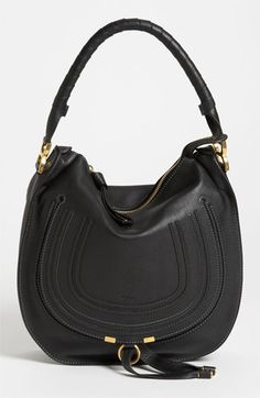 It's all about the Chloé bag. Adding this leather hobo to the fall wardrobe.