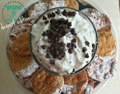Cannoli Dip - Three Kids and a Fish Sweet Desserts, No Bake Desserts, Delicious Desserts, Dessert Recipes, My Dessert, Dessert Table, Cannoli Dip, Italian Pastries, Pepperoni Dip