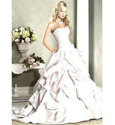 diamond wedding dresses