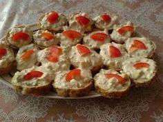 Pomazánka z tuňáka Sushi, Muffin, Appetizers, Cooking Recipes, Breakfast, Ethnic Recipes, Sandwich Spread, Morning Coffee, Appetizer
