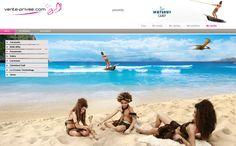 Nuestros webdesigners han dado a los protagonistas de #VPSummerCamp un merecido descanso ;-)  #venteprivee #webdesign #kitesurf