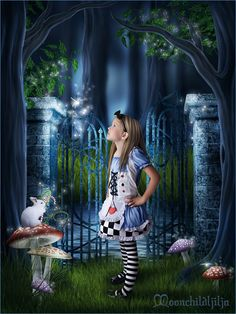Alice In Wonderland by moonchild-ljilja.deviantart.com on @deviantART