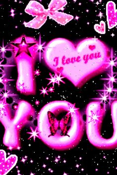 Pink Butterfly I Love You Live - Android I love you more than words can express. I love you most! I love you, with an extra squeeze! Love Heart Images, I Love You Images, Love You Gif, Love Pictures, Love Is All, True Love, Heart Wallpaper, Love Wallpaper, Messages Bonjour