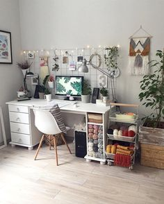 """535 Likes, 24 Comments - Workspace Goals 👈 (@workspacegoals) on Instagram: """"Starting our feed with this white workspace regram from Hayley @taylor.dbeauty in Australia ☀️ We…"""""""
