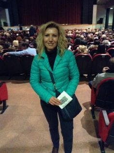 """#parlailpubblico #TeatriDICivitanova """"Il teatro è una forma di aggregazione,un momento di trasposizione della persona verso l'altro"""" (Giuseppina di Civitanova Marche) 25 marzo 2014"""