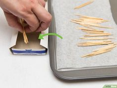 How to Make Cinnamon Toothpicks: 9 Steps (with Pictures) - wikiHow Cinnamon Toothpicks, Flavored Toothpicks, Diabetic Recipes, Preserves, Holiday Recipes, Spices, Sweets, Homemade, Crafty
