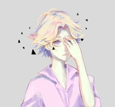 Yoosung by HllR0.. Looks a bit like the fanart for Cecil from Welcome to Night Vale