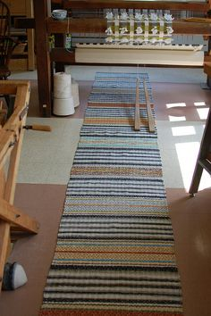 "finished, 202"" by Avalanche Looms, via Flickr Rug Loom, Loom Weaving, Tapestry Weaving, Hand Weaving, Swedish Style, Textiles, Woven Rug, Creative Inspiration, Cool Kitchens"